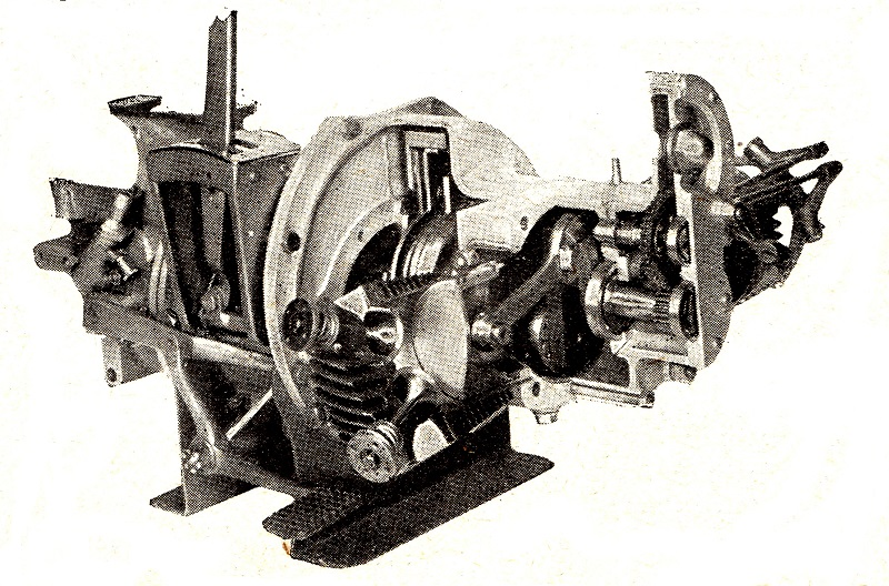 Internal construction of the A.B.C. engine