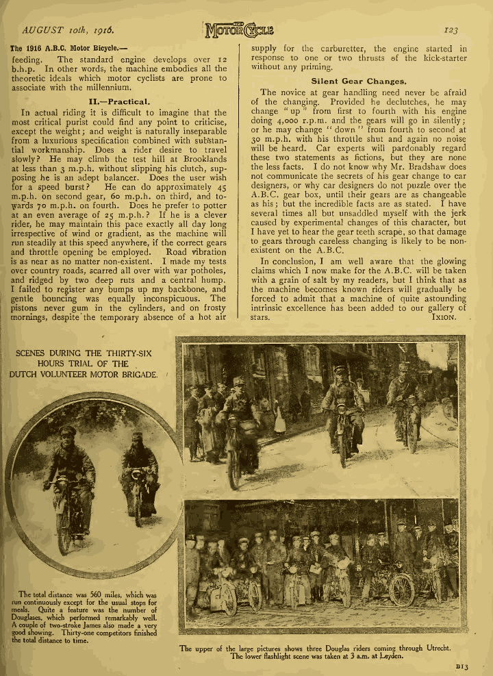 The MotorCycle AUGUST 10th, 1916 page 123